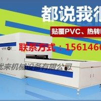 河南省登封市高光PVC木皮正负压覆膜机,2018新品