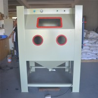 广西喷砂机 电机箱烤漆前处理增加附着力表面处理