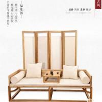 新中式书柜家具定制   新中式书桌家具定制