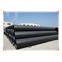 聚乙烯塑钢缠绕管连接方式
