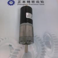 赛仑特减速电机具有高精度,可开发与定制的优势