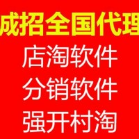 淘宝店淘软件招商加盟OEM贴牌定制1688分销软件
