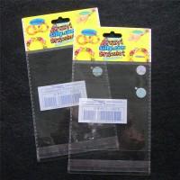 厂家直销OPP卡头自粘袋 塑料薄膜袋 定制批发 文具笔芯袋