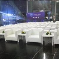 广州提供展览会沙发、贵宾椅、折叠椅、洽谈椅等家具物料租赁