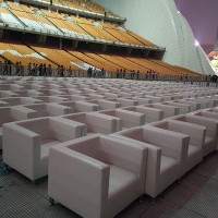 广州白云家具租赁国际展览会单人沙发、贵宾椅、土司凳租赁