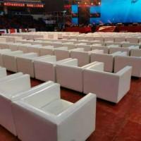 广州白云提供广交会展单人沙发租赁洽谈桌椅租赁方凳租赁