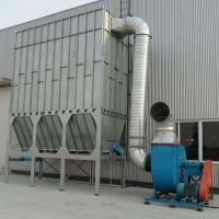 脉冲袋式除尘器应用在家具厂中得制作车间