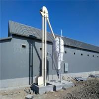 玻璃钢料塔 德州猪舍自动上料玻璃钢料塔厂家 水产养殖料塔