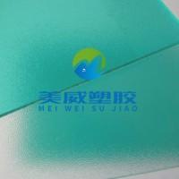 专业生产PC广告板全新料PC磨砂板聚*酯细磨砂板