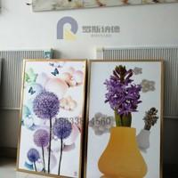 厂家热销 家居壁挂式电暖画碳晶/碳纤维电墙暖画500W发热画