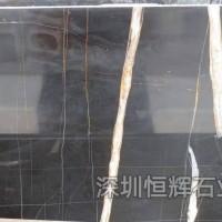 深圳大理石材-劳伦黑金
