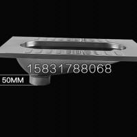 厂家直销不吸光蹲便器304材质工程用白钢蹲便器