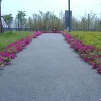 上海城市道路彩色透水地坪材料的*新价格