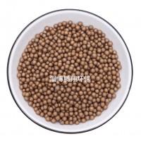 微孔矿化球/腾翔金色微孔陶瓷球吸附水中余氯/消菌水处理微孔球