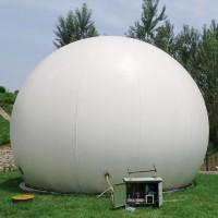 沼气双膜储气柜的性能及用途