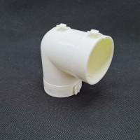 厂家直销工程PPR聚氨酯*保温管件90度弯头