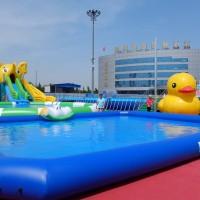 大型充气游泳池 水池户外支架水池成人儿童移动水上乐园组合加厚