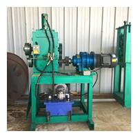 宁夏石嘴山全自动油桶切割机 液压切盖机 自动升降立式切盖机