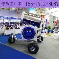 预防国产人工造雪机生锈小技巧 操作简单铺设面积广泛