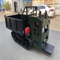 厂家供应小型履带车全地形多功能运输车1T手扶履带车