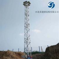 厂定制 钢结构铁塔 升降式照明灯塔 投光灯塔
