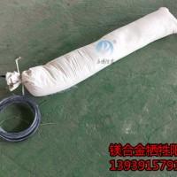 套装镁阳极包括填料棉布袋电缆线镁阳极一直组装成的