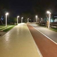 彩色公交道路,市政路面施工铺装,上海睿龙提供