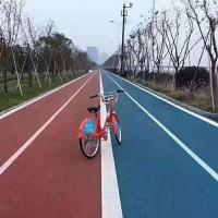 上海睿龙地坪商家直供彩色防滑陶瓷颗粒路面