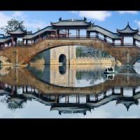 江西文青园林古建厂家直销长廊廊桥