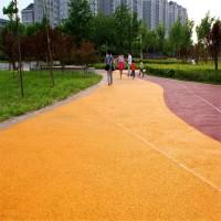 邛崃厂家出售混凝土压花地坪透水路面艺术地坪