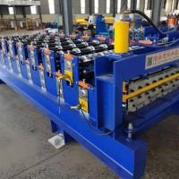 泊头兴和现货供应840/900双层压瓦机/单板彩瓦机