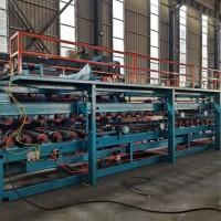 兴和供应现货10米保温墙板复合板成型机生产线