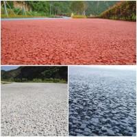 重庆市彩色透水混凝土;透水胶粉材料厂家;压花地坪;