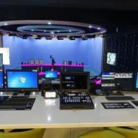 融媒体虚拟演播室系统校园电视台演播室工程搭建
