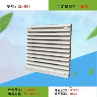 ZL-801通风过滤网组配电柜防尘罩百叶窗轴流风扇散热保护罩FB9801