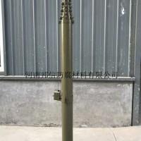 可定制力本手动升降避雷针10米12米铝合金手摇升降杆防雷接闪器