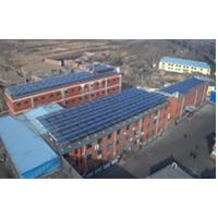 煤矿职工洗浴太阳能热水工程